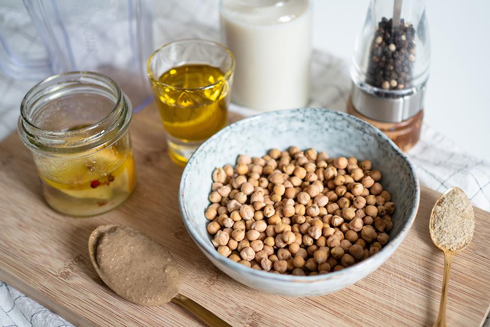 Zitronen-Hummus: Zutaten   we love handmade
