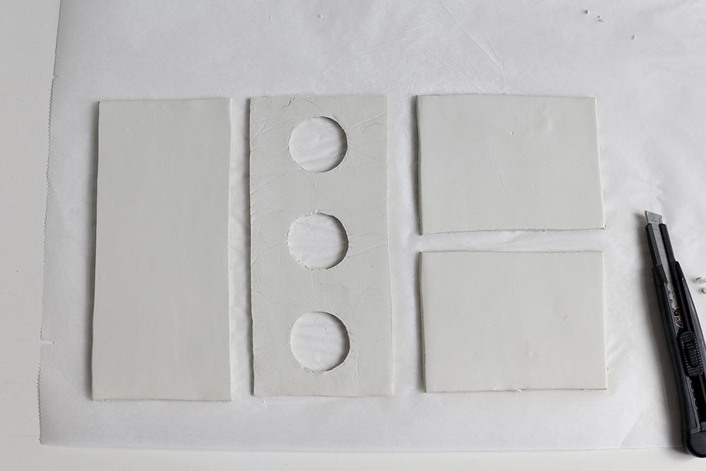 DIY: Anzuchtstation - die Modelliermasse schneiden | we love handmade