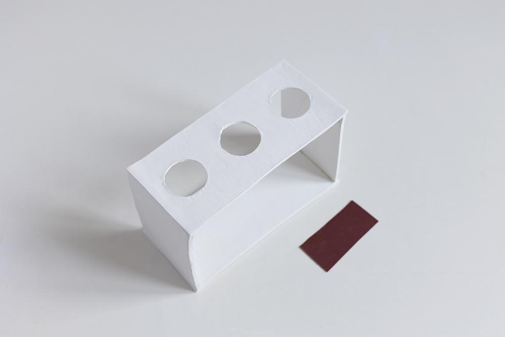 DIY: Anzuchtstation - Modelliermasse mit Schleifpapier schleifen | we love handmade