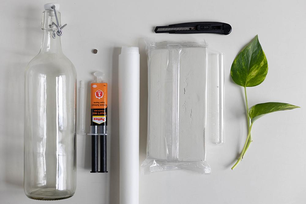 DIY: Magnetische Anzuchtstation mit Reagenzglas diese Materialien braucht ihr | we love handmade