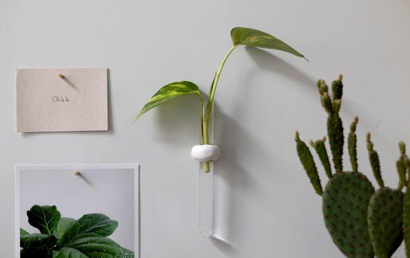 DIY: Magnetische Anzuchtstation mit Reagenzglas aus Modeliermasse selbermachen | we love handmade