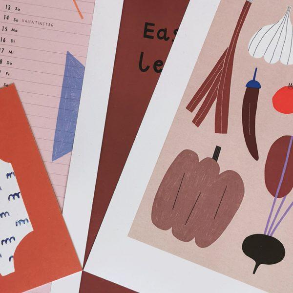 Illustratorin Anna Katharina im Interview Jansen Illustrationen Produkte welovehandmade