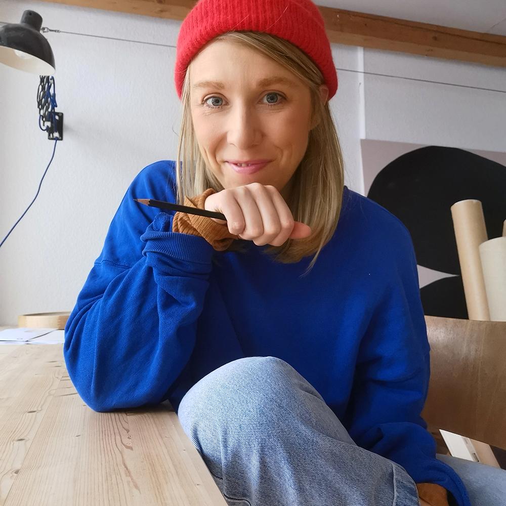 Illustratorin Anna Katharina Jansen Portrait welovehandmade