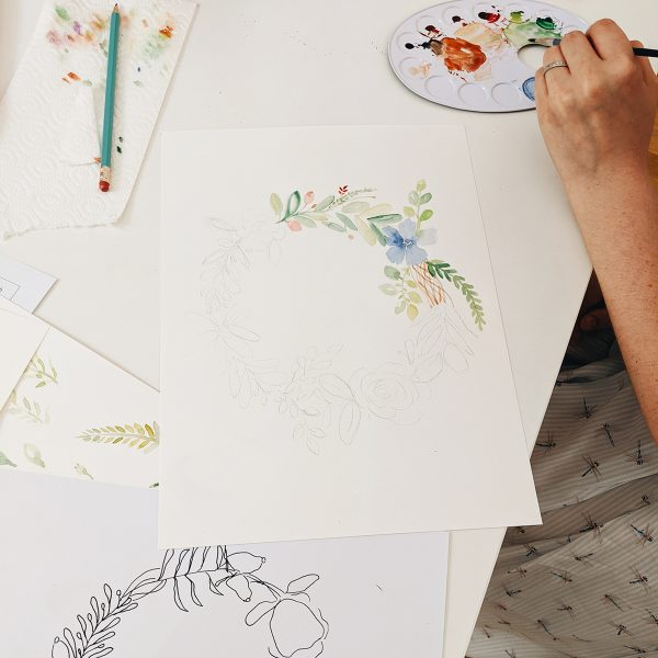 Aquarell-Workshop in Wien | we love handmade