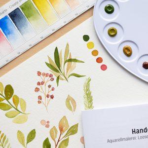 Aquarellmalerei: Beispiele für Craft Kit | we love handmade