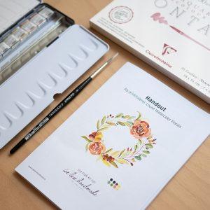 Aquarellmalerei Craft Kit | we love handmade