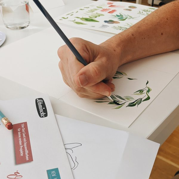 Aquarellmalerei: DIY-Workshop in Wien | we love handmade