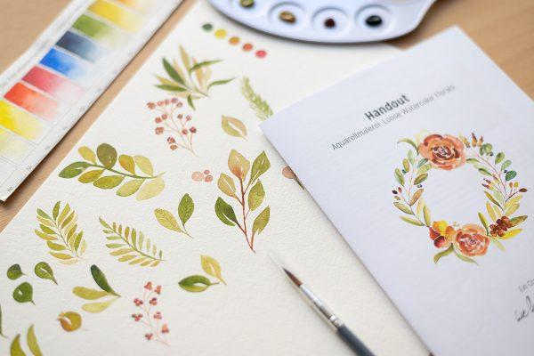 Aquarellmalerei-Workshop: Craft Kit   we love handmade