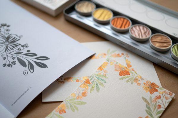 Coliro Craft Kit: Aquarellmalerei | we love handmade