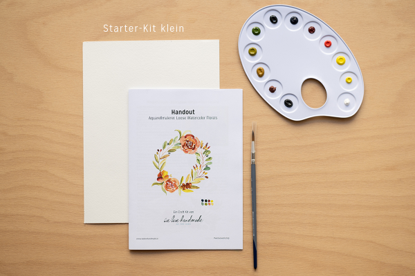 """Craft Kit """"Aquarellmalerei für Anfänger"""" klein   we love handmade"""