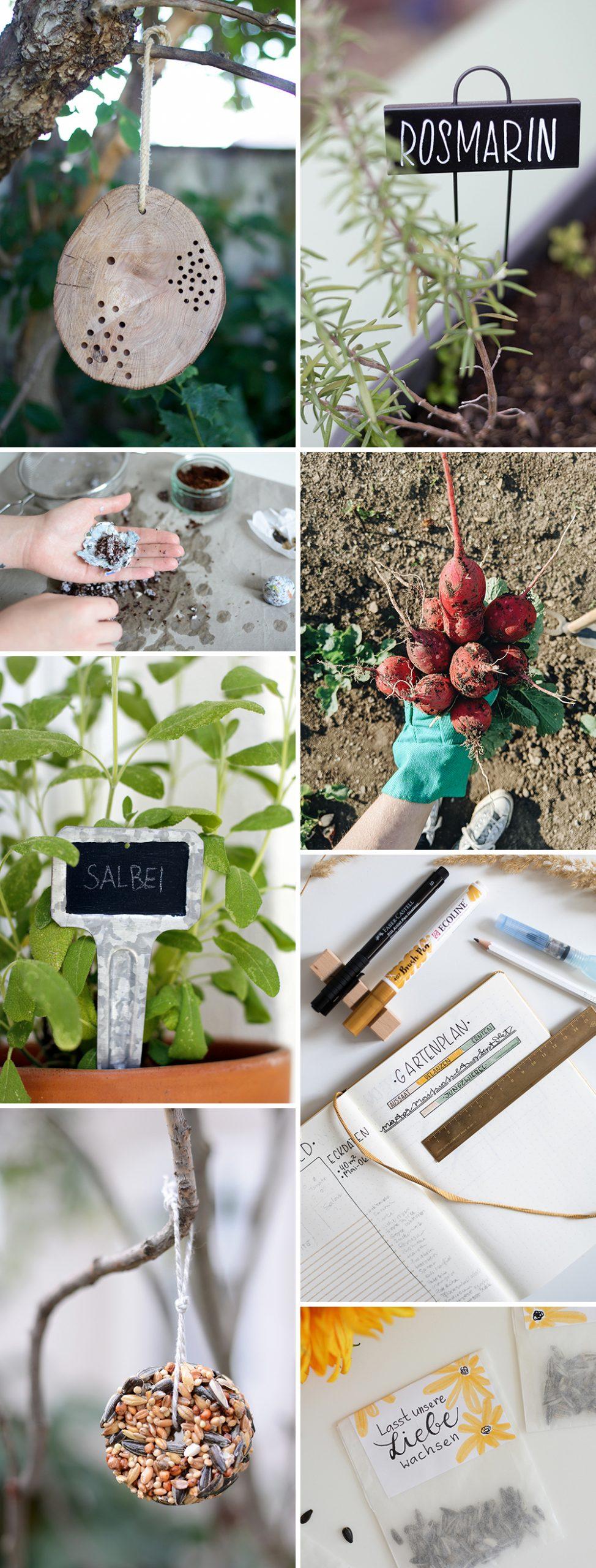 Inspiration: DIYs für den Garten | we love handmade