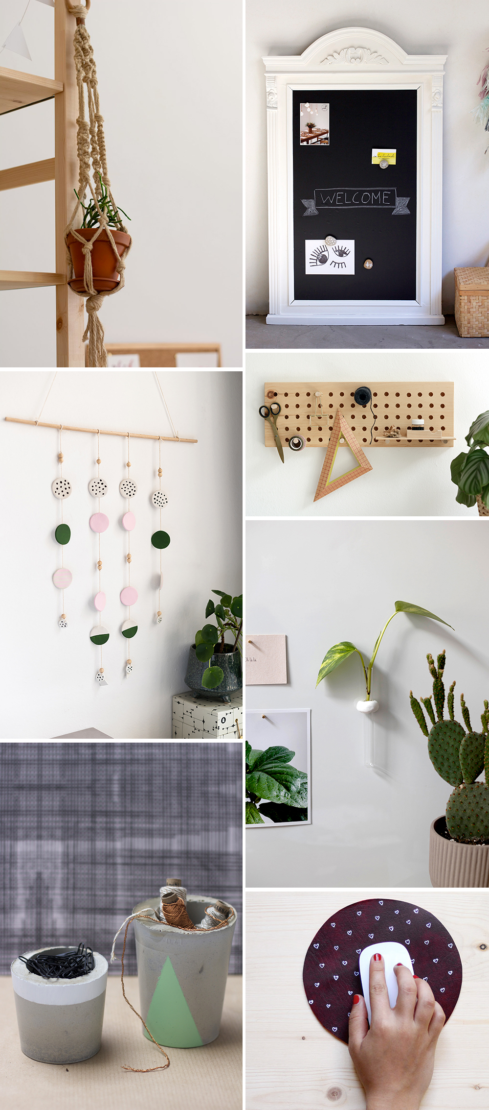 Inspiration: DIYs fürs Office | we love handmade