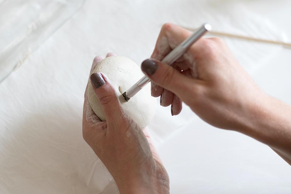 Blumenvase aus Modelliervase: DIY | we love handmade