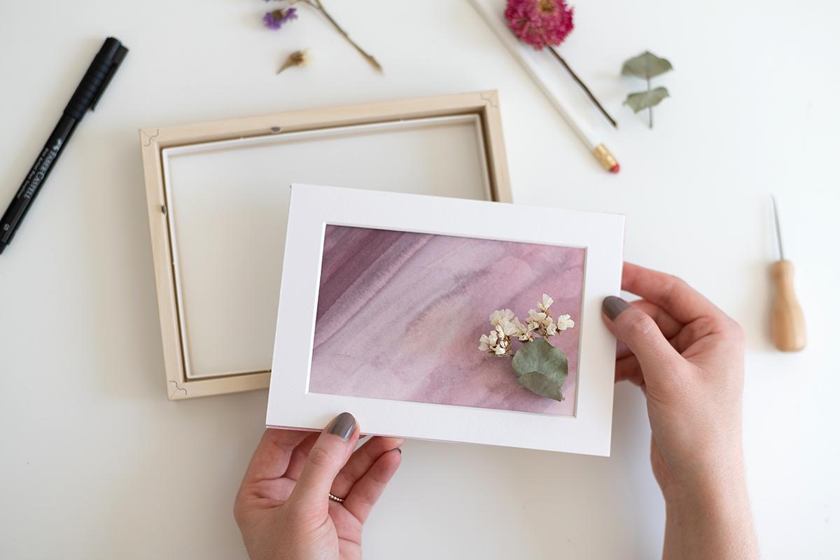 DIY: Trockenblumen-Bilder | we love handmade