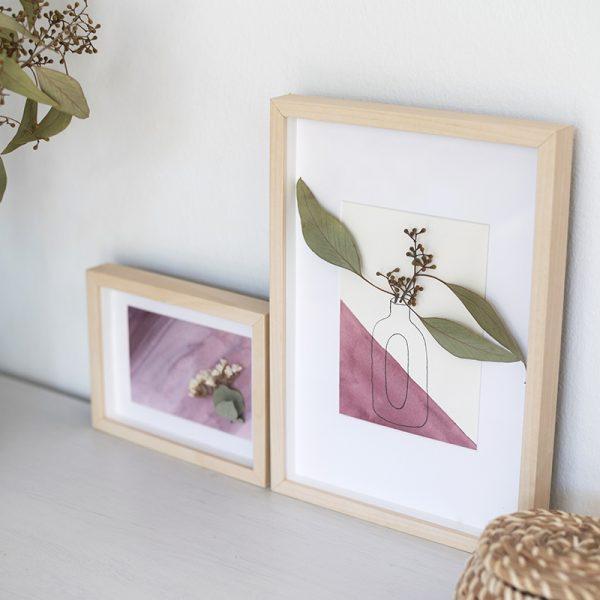 Dekorative Trockenblumen-Bilder | we love handmade