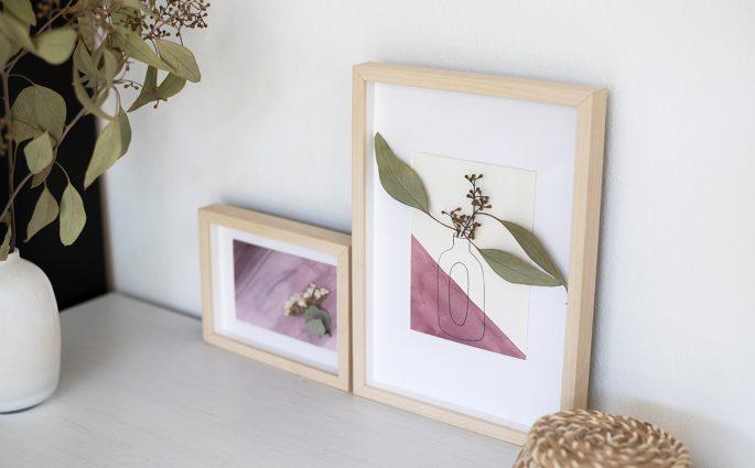 Dekorative Trockenblumen-Bilder   we love handmade