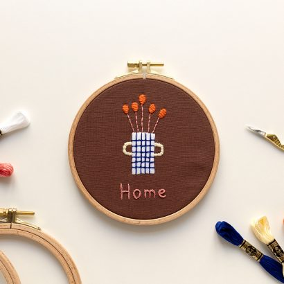 Stick-Kit HOME Anna Katharina Jansen Kooperation | we love handmade