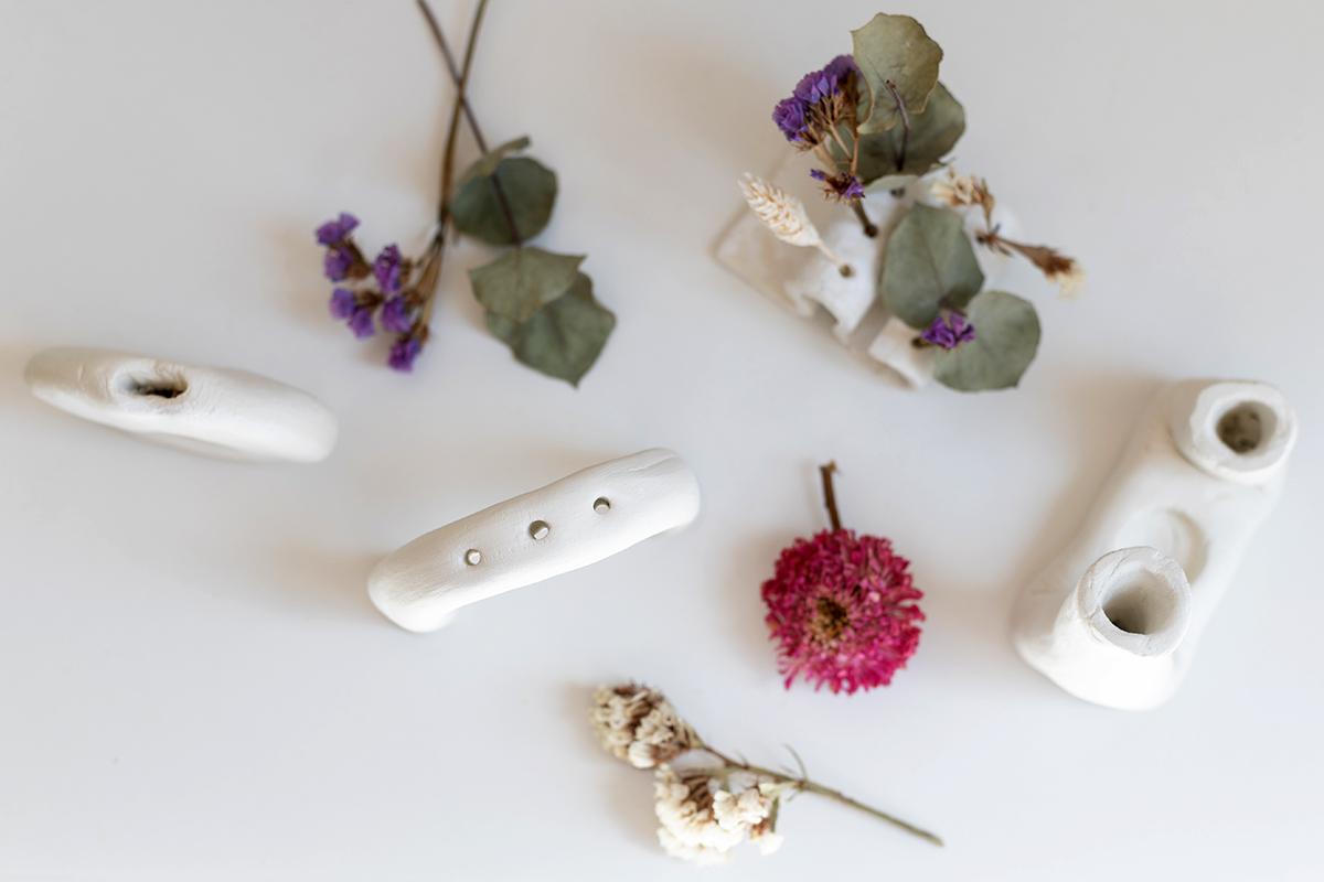 Trockenblumen-Vasen: DIY-Auswahl | we love handmade