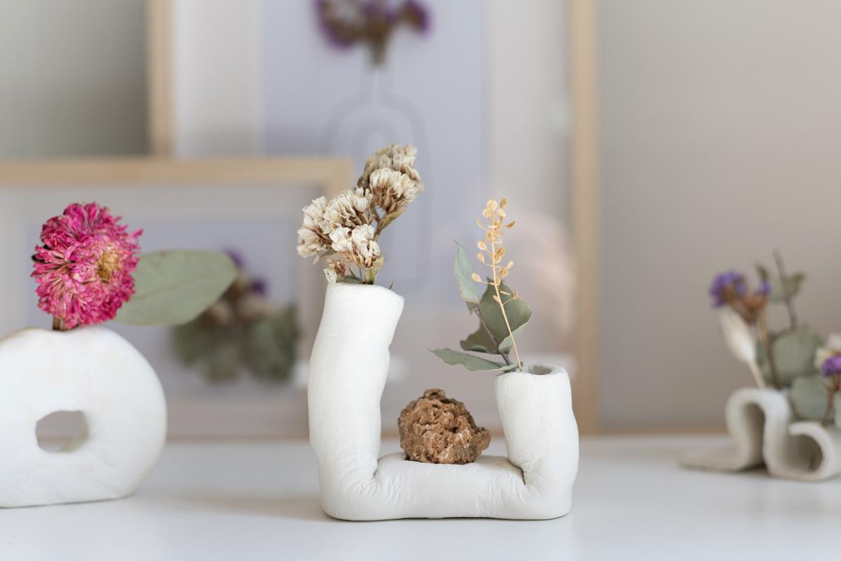 fertige Trockenblumen-Vasen | we love handmade