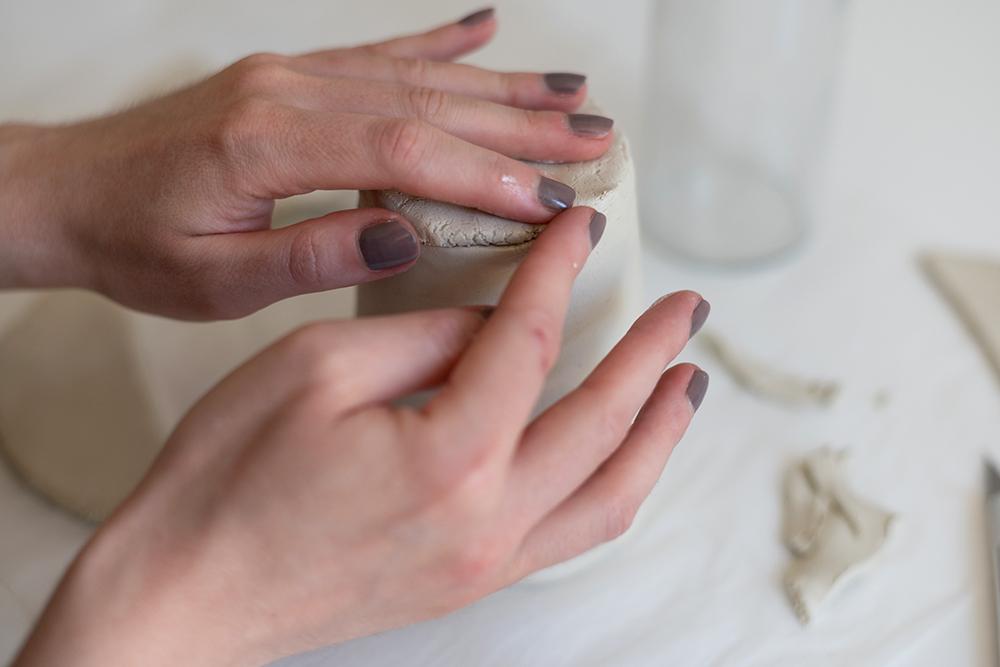 Clay-Topf selber machen | we love handmade