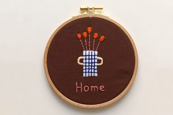 HOME Stick-Kit: Illustration von Anna Katharina Jansen | we love handmade