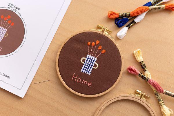HOME Stick-Kit: Craft Kit mit Anna Katharina Jansen | we love handmade