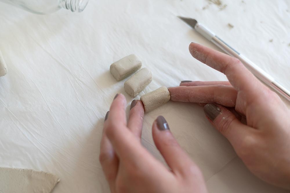 Tontopf mit Füßchen aus Clay: DIY | we love handmade