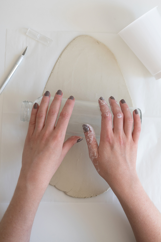 Tontopf aus Modelliermasse: DIY | we love handmade