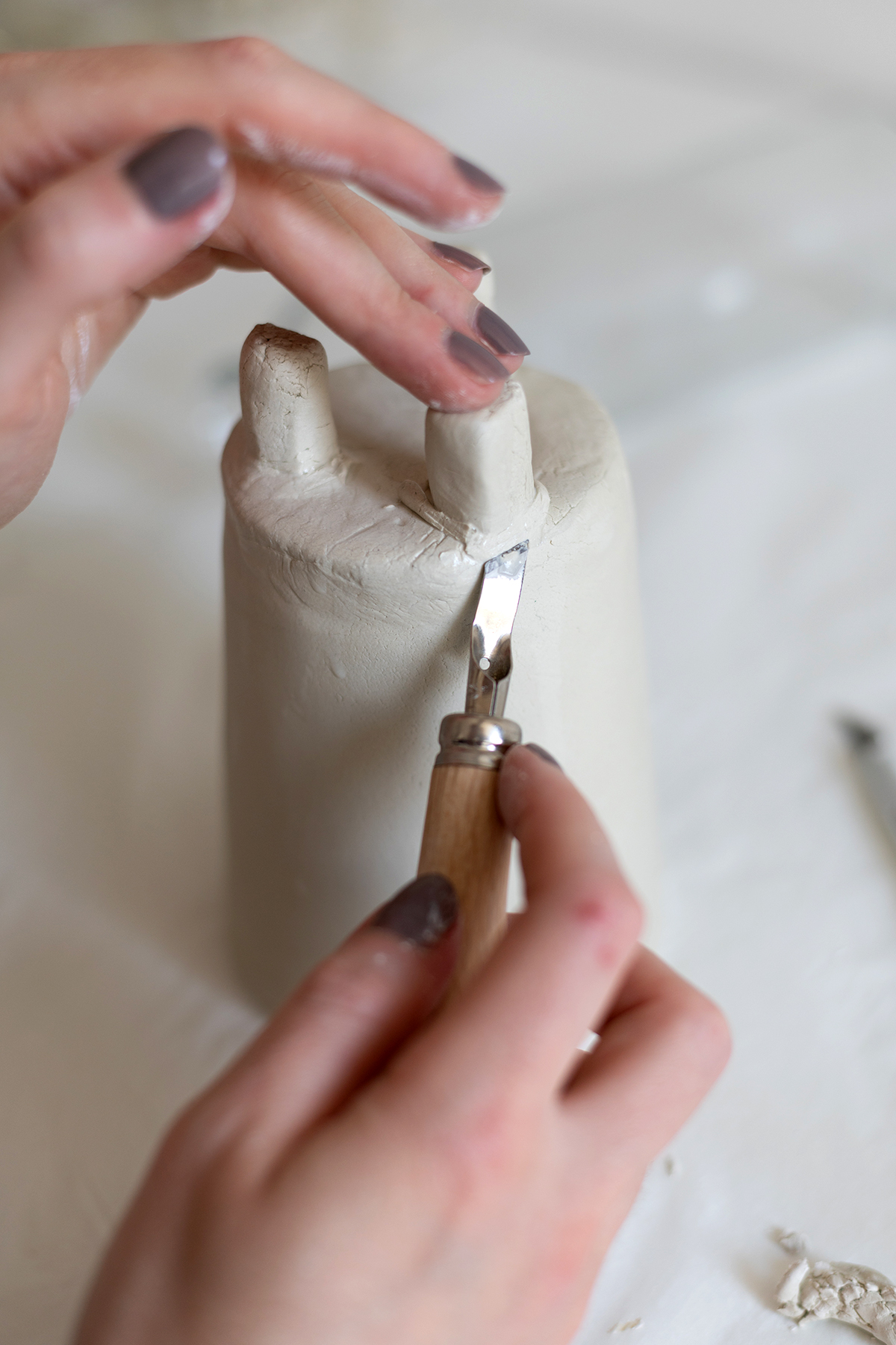 Topf-DIY mit Modelliermasse selber machen | we love handmade