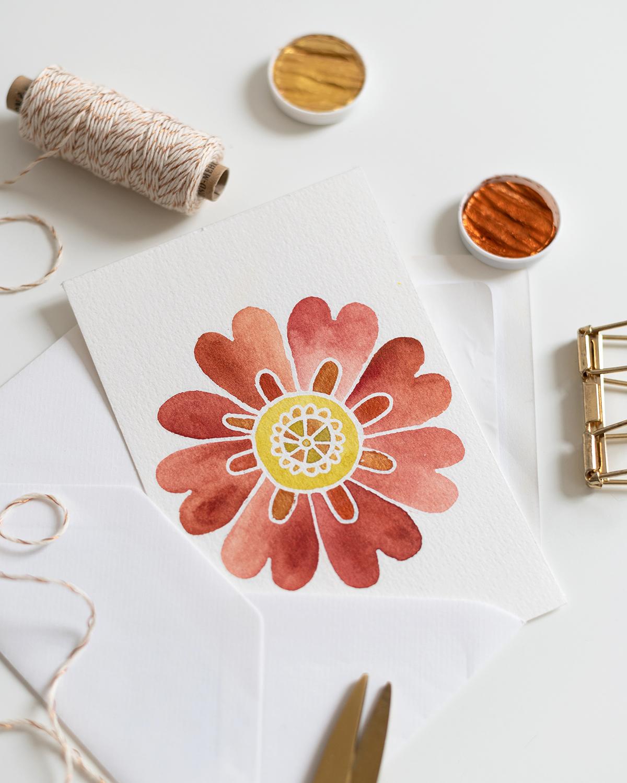 Blumen-Mandala: DIY   we love handmade