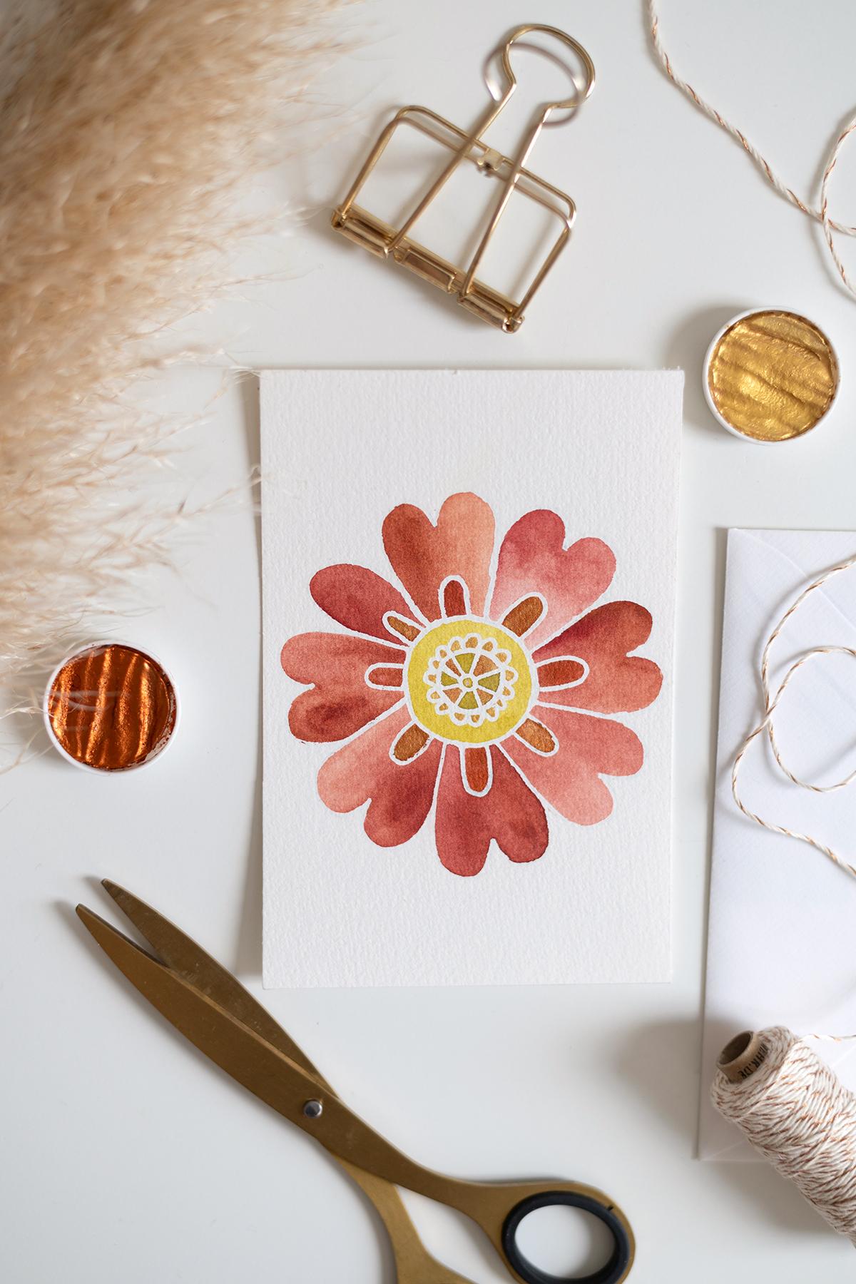 DIY: Mandala-Karte als Geschenk   we love handmade