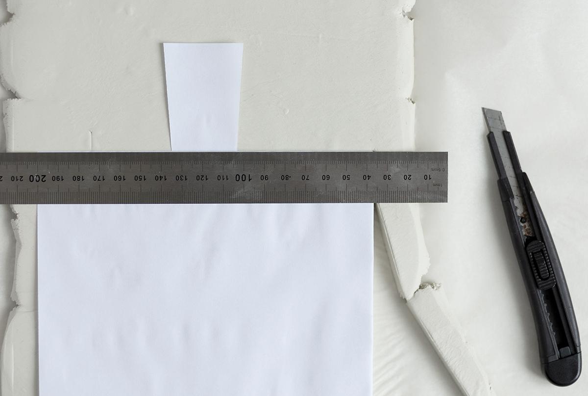 DIY: Schneidebrett aus Modelliermasse formen | we love handmade