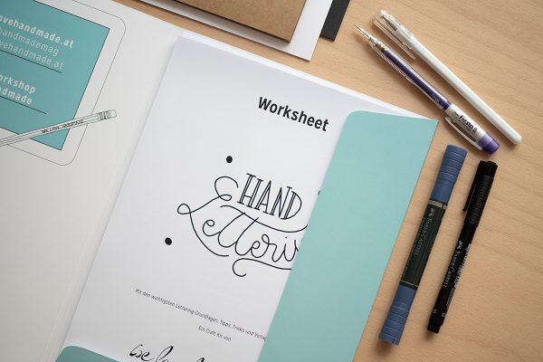 Hand Lettering Craft Kit für Anlässe | we love handmade