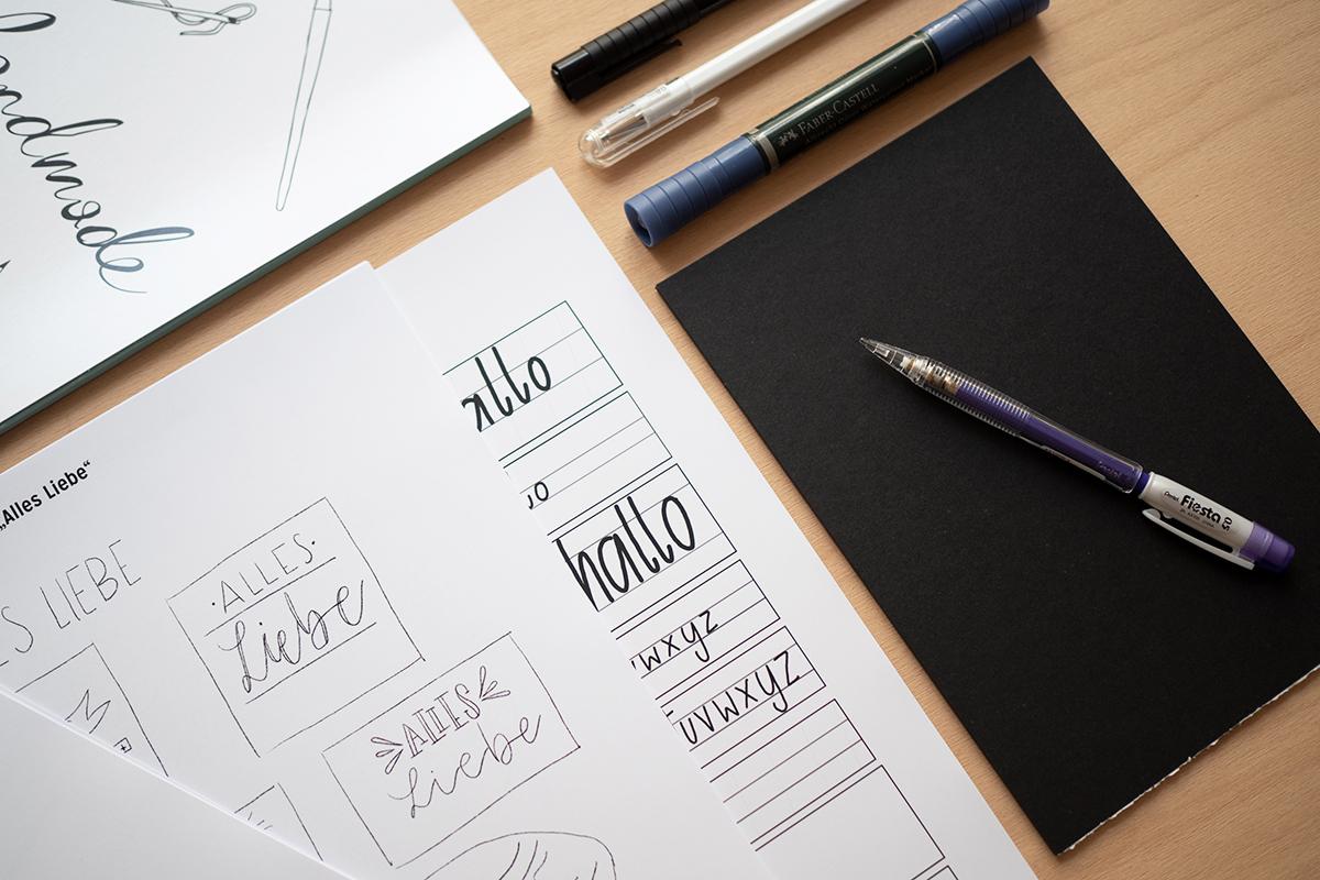 Hand Lettering Craft Kit | we love handmade