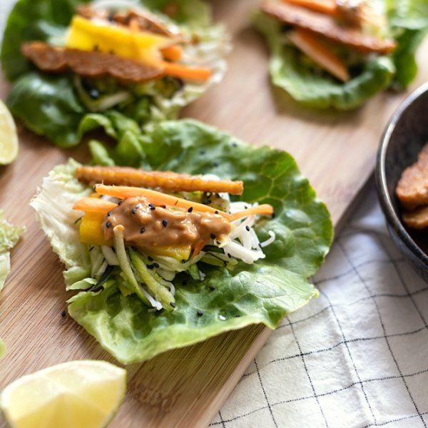 Salat-Wrap Asiatisch | we love handmade