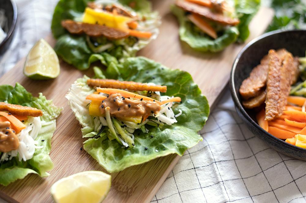 Salat-Wrap Asiatisch   we love handmade