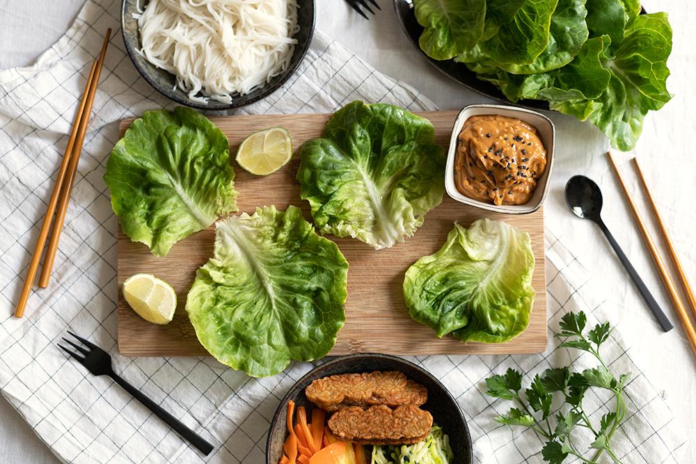 Salat-Wraps: Rezept   we love handmade