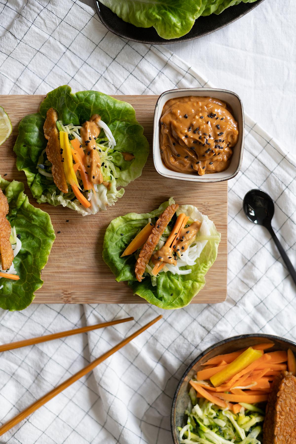 Salat-Wraps Sommer-Rezept   we love handmade