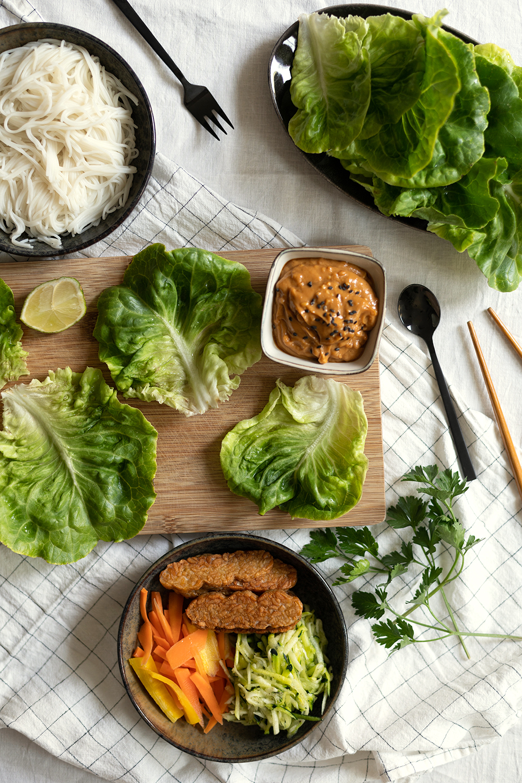 Salat-Wraps Selbermachen   we love handmade