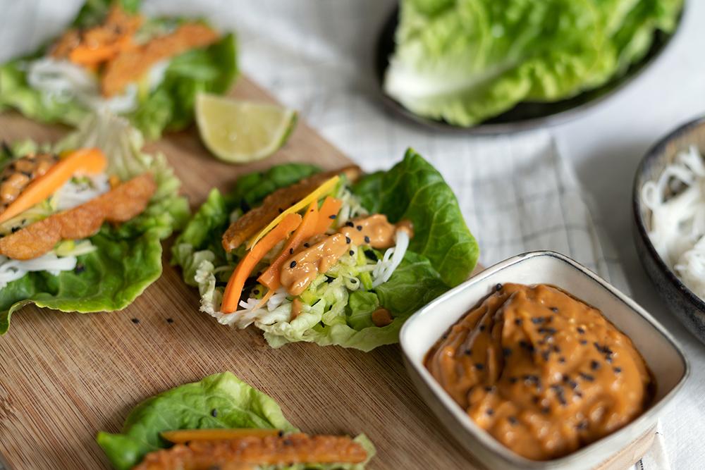 vegetarische Salat-Wraps   we love handmade