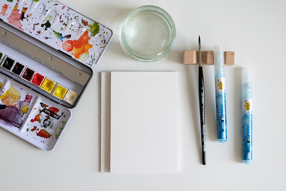 Aquarell-Material: DIY-Tutorial | we love handmade