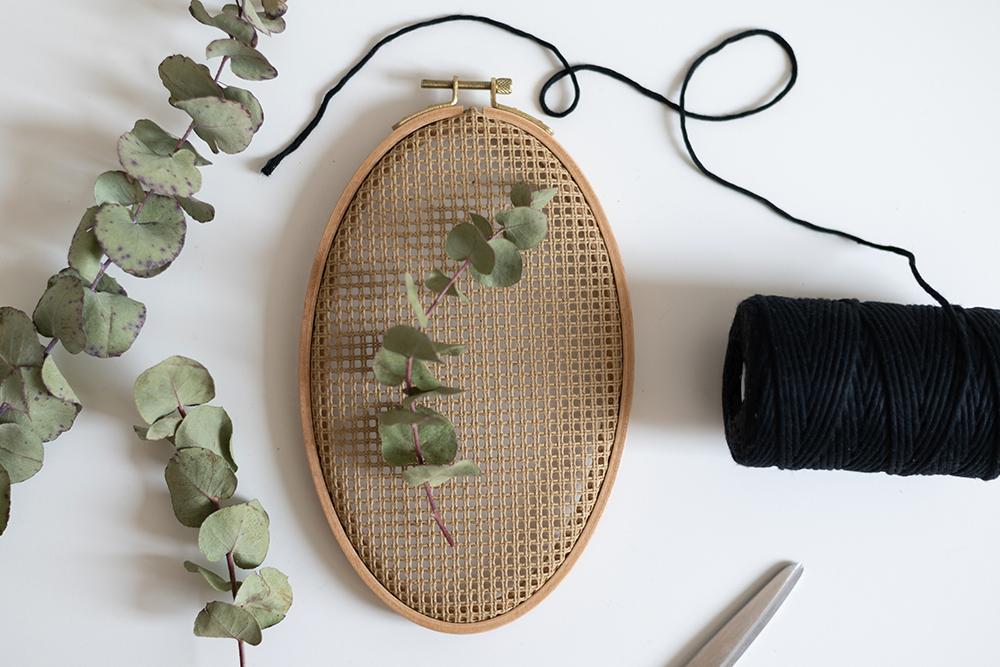 Boho-Wanddeko mit Trockenblumen   we love handmade