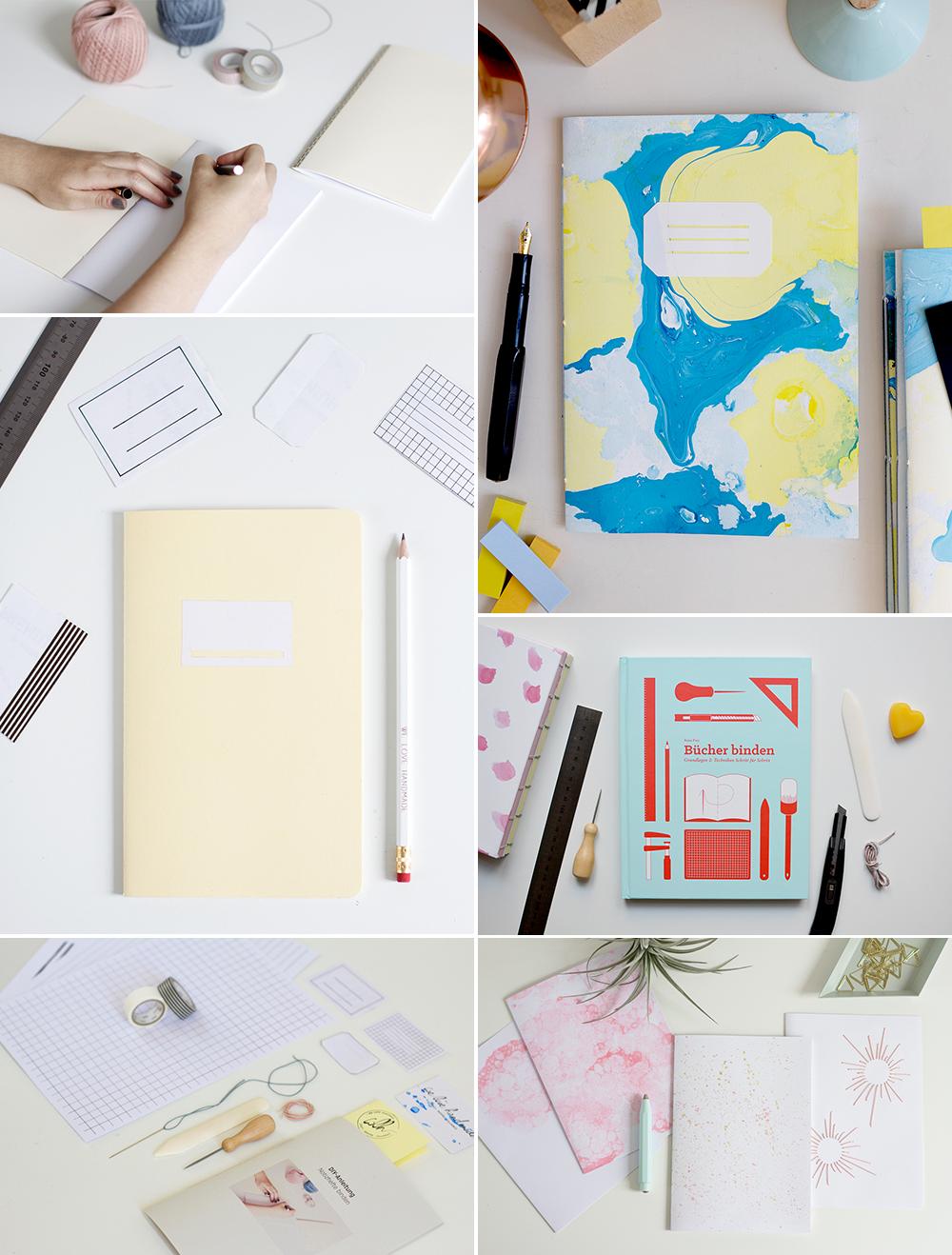 DIY-Inspiration: Buchbinden | we love handmade