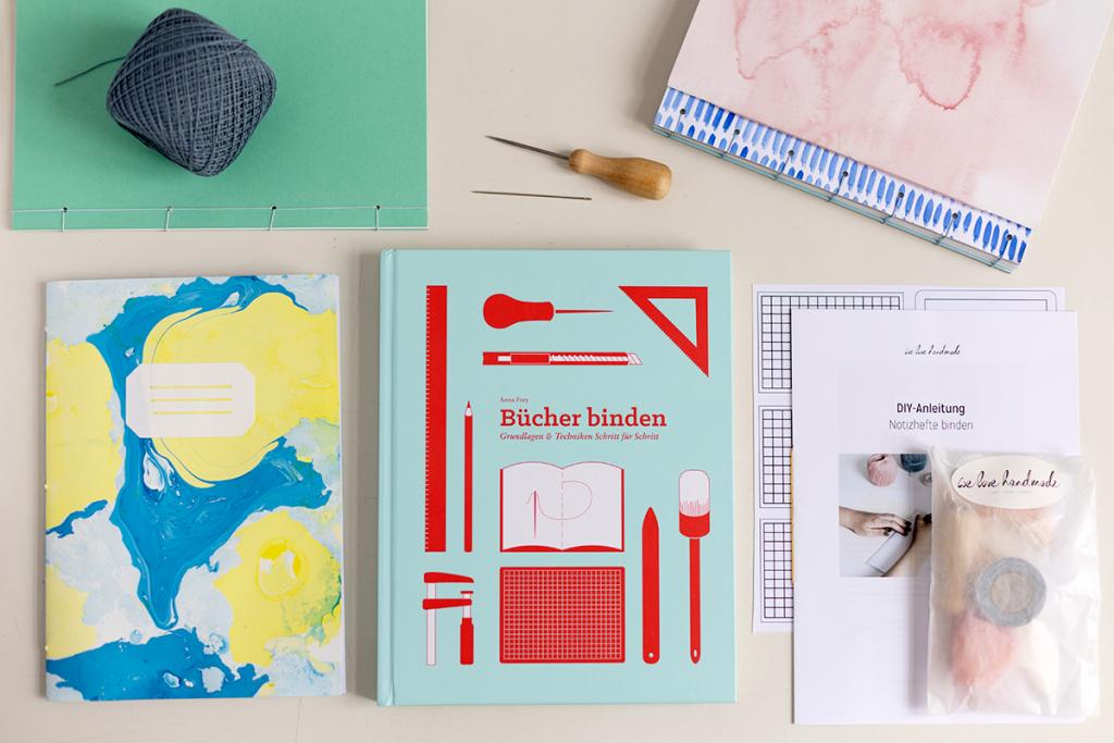 DIY-Inspiration: Buchbinden - Unsere DIYs und Produkte | we love handmade