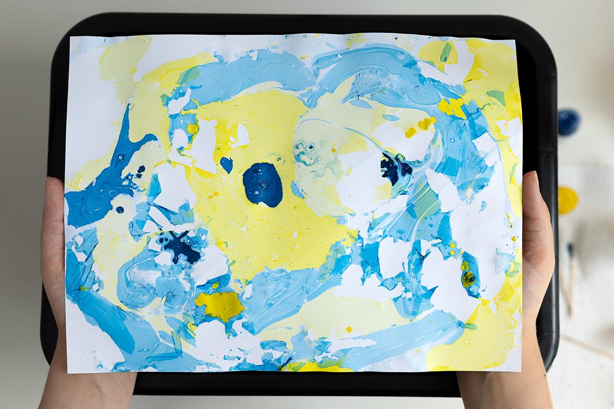 DIY: Papier marmorieren Fehlversuch | we love handmade