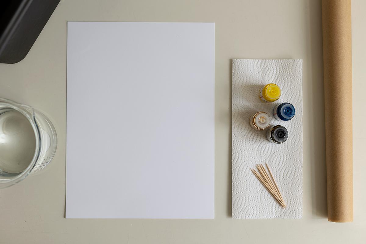 DIY: Papier marmorieren - Dieses Material brauchst du| we love handmade