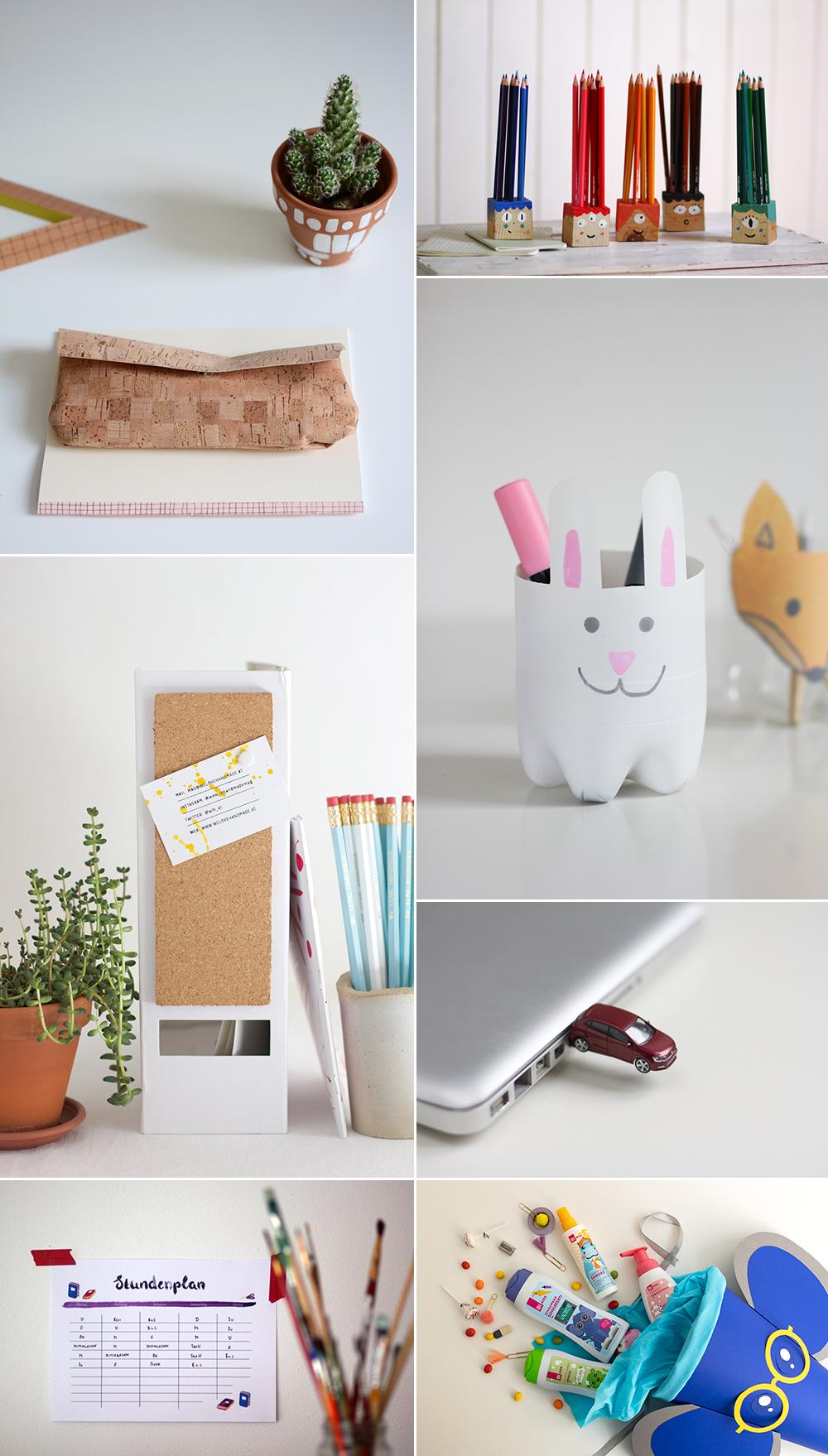 DIYs zum Schulbeginn   we love handmade