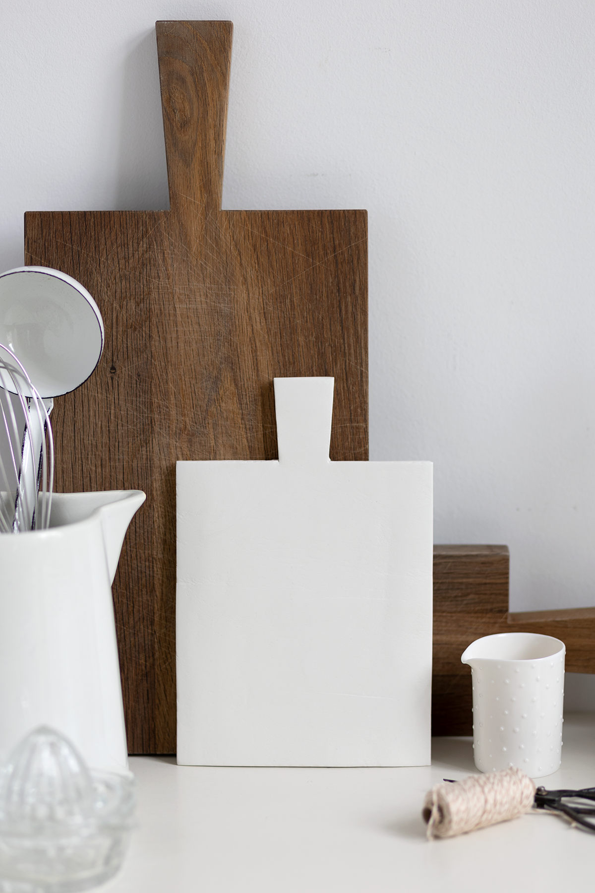 Dekobrett aus Modelliermasse - DIY-Anleitung zum Selbermachen | we love handmade