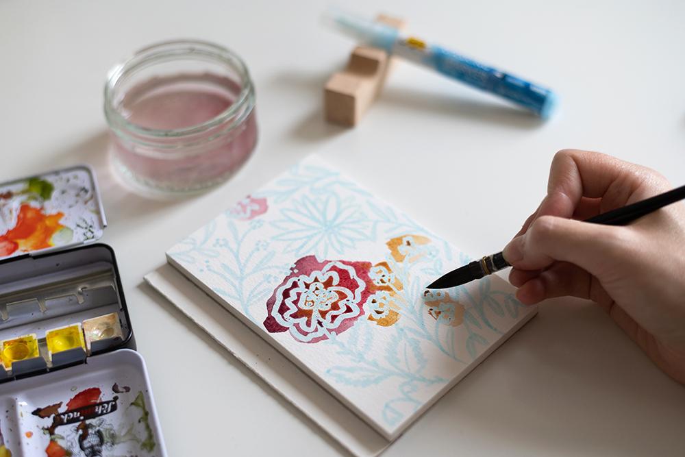 Loose-Aquarell | we love handmade