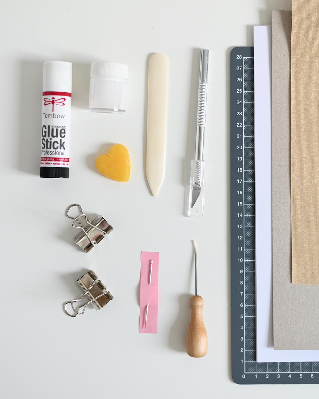 Materialkunde: Buchbinden | we love handmade